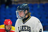 Skaneateles Lakers Patrick Major (9) on the ice against the Williamsville East Flames in NYSPHSAA Division II Boys Hockey Championships at the Utica Memorial Auditorium n Utica, New York on Sunday, March 15, 2015.  Skaneateles won 5-2.