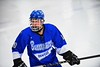 Oswego Buccaneers Michael Chesare (10) playing against the Baldwinsville Bees at the Greater Baldwinsville Ice Arena in Baldwinsville, New York on Tuesday January 27, 2015.  Baldwinsville won 4-0.