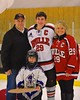 Baldwinsville Bees Senior Night at the Greater Baldwinsville Ice Arena in Baldwinsville, New York on Friday February 6, 2015.