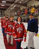 Baldwinsville Bees Teacher Appreciation Night at the Greater Baldwinsville Ice Arena in Baldwinsville, New York on Tuesday, January 20, 2015.
