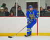 West Genesee Wildcats Captain Andrew Katko (26) looking to make a play against the Syracuse Cougars at Meachem Ice Rink in Syracuse, New York on Wednesday, January 28, 2015. Syracuse won 5-4.
