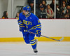 West Genesee Wildcats Garrett Schnorr (14) on the ice against the Syracuse Cougars at Meachem Ice Rink in Syracuse, New York on Wednesday, January 28, 2015. Syracuse won 5-4.
