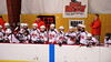 Baldwinsville Bees hosts the Watertown IHC Cavaliers at the Greater Baldwinsville Ice Arena in Baldwinsville, New York on Tuesday January 20, 2015.  Baldwinsville won 10-0.