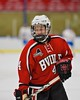 Baldwinsville Bees JP Clappa (4) before playing the West Genesee Wildcats at Shove Park in Camillus, New York on Friday, December 11, 2015.