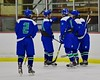 Cicero/North Syracuse Northstars players celebrate a goal against the Baldwinsville Bees at the Lysander Ice Arena in Baldwinsville, New York on Monday February 8, 2016. Cicero/North Syracuse won 2-1.