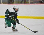 Baldwinsville Bees hosted the Fayetteville-Manlius Hornets at the Lysander Ice Arena in a Section III Division I Boys Hockey Playoff game at Baldwinsville, New York on Thursday February 18,  ...