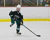 Fayetteville-Manlius Hornets Will Healy (3) looking to make a play against the Baldwinsville Bees at the Lysander Ice Arena in a Section III Division I Boys Hockey Playoff game at Baldwinsville, New York on Thursday February 18, 2016.  Baldwinsville won 5-0.
