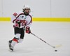 Baldwinsville Bees Anthony Pompo (55) warms up before playing the Liverpool Warriors at the Lysander Ice Arena in Baldwinsville, New York on Friday January 22, 2016.