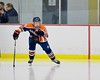 Liverpool Warriors Jeff Gentile (11) takes to the ice before playing the Baldwinsville Bees at the Lysander Ice Arena in Baldwinsville, New York on Friday January 22, 2016.