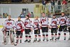 Baldwinsville Bees hosts the Liverpool Warriors at the Lysander Ice Arena in Baldwinsville, New York on Friday January 22, 2016.