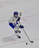 West Genesee Wildcats Matthew McDonald (12) looking to make a play against the Baldwinsville Bees in the Section III, Division I Championship game in Boys Ice Hockey at the Utica Auditorium on Sunday, February 28, 2016. West Genesee won 1-0.