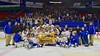 West Genesee Wildcats Championship Team Photo after defeating the Baldwinsville Bees in the Section III, Division I Championship game in Boys Ice Hockey at the Utica Auditorium on Sunday, February 28, 2016. West Genesee won 1-0.