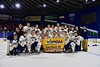 Skaneateles Lakers win over the New Hartford Spartans for the Section III, Division II Championship at the Utica Auditorium on Sunday, February 28, 2016. Skaneateles won 4-0.