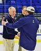 Skaneateles Lakers played the New Hartford Spartans for the Section III, Division II Championship at the Utica Auditorium on Sunday, February 28, 2016. Skaneateles won 4-0.