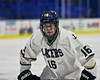Skaneateles Lakers Matt Leveroni (16) before a face-off against the New Hartford Spartans for the Section III, Division II Championship at the Utica Auditorium on Sunday, February 28, 2016. Skaneateles won 4-0.