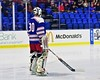 New Hartford Spartans goalie Tyler Hansen (30) before playing the Skaneateles Lakers for the Section III, Division II Championship at the Utica Auditorium on Sunday, February 28, 2016.