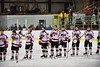 Baldwinsville Bees hosts the West Genesee Wildcats at the Lysander Ice Arena in Baldwinsville, New York on Tuesday February 2, 2016. Game ended in a 2-2 tie.