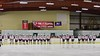 Baldwinsville Bees lined up before playing against the West Genesee Wildcats at the Lysander Ice Arena in Baldwinsville, New York on Tuesday February 2, 2016. Game ended in a 2-2 tie.