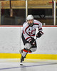Baldwinsville Bees Josh Racha (6) skating with the puck against the Liverpool Warriors in NYSPHSAA Section III Boys Ice Hockey action at the Lysander Ice Arena in Baldwinsville, New York on Friday, December 16, 2016. Baldwinsville won 2-0.