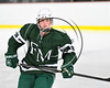 Fayetteville-Manlius Hornets Ben Marschall (15) at the Lysander Ice Arena in Baldwinsville, New York on Friday, January 6, 2017.
