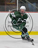 Fayetteville-Manlius Hornets Ben Marschall (15) with the puck against the Baldwinsville Bees in NYSPHSAA Section III Boys Ice Hockey action at the Lysander Ice Arena in Baldwinsville, New York on Friday, January 6, 2017. Baldwinsville won 6-0.