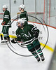 Fayetteville-Manlius Hornets Chris Hurley (14) at the Lysander Ice Arena in Baldwinsville, New York on Friday, January 6, 2017.