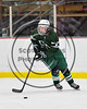 Fayetteville-Manlius Hornets Benn Hammond (22) with the puck against the Baldwinsville Bees in NYSPHSAA Section III Boys Ice Hockey action at the Lysander Ice Arena in Baldwinsville, New York on Friday, January 6, 2017. Baldwinsville won 6-0.