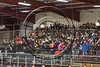 Baldwinsville Bees band on hand for the game against the Fayetteville-Manlius Hornets at the Lysander Ice Arena in Baldwinsville, New York on Friday, January 6, 2017.