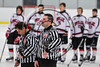 Baldwinsville Bees hosted the Fayetteville-Manlius Hornets in NYSPHSAA Section III Boys Ice Hockey action at the Lysander Ice Arena in Baldwinsville, New York on Friday, January 6, 2017.