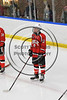 Baldwinsville Bees Parker Schroeder (8) before playing the West Genesee Wildcats in NYSPHSAA Section III Boys Ice Hockey action at Shove Park in Camillus, New York on Wednesday, February 1, 2017.