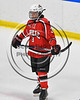 Baldwinsville Bees Ryan Muscatello (3) before playing the West Genesee Wildcats in NYSPHSAA Section III Boys Ice Hockey action at Shove Park in Camillus, New York on Wednesday, February 1, 2017.