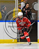 Baldwinsville Bees Zach Perez (26) takes the ice against the West Genesee Wildcats in NYSPHSAA Section III Boys Ice Hockey action at Shove Park in Camillus, New York on Wednesday, February 1, 2017.