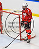 Baldwinsville Bees Nick Glamos (14) before playing the West Genesee Wildcats in NYSPHSAA Section III Boys Ice Hockey action at Shove Park in Camillus, New York on Wednesday, February 1, 2017.