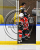 Baldwinsville Bees Chris Speelman (23) takes the ice against the West Genesee Wildcats in NYSPHSAA Section III Boys Ice Hockey action at Shove Park in Camillus, New York on Wednesday, February 1, 2017.