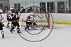 Baldwinsville Bees host the Mohawak Valley Raiders in NYSPHSAA Section III Boys Ice Hockey action at the Lysander Ice Arena in Baldwinsville, New York on Tuesday, February 7, 2017. Baldwinsville won 1-0.