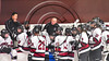 Baldwinsville Bees visited the Syracuse Cougars in a Section III, Division I Playoff game at the Meachem Ice Rink in Syracuse, New York on Wednesday, February 22, 2017. Syracuse won 3-2 in overtime.