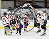 Baldwinsville Bees Senior Night at the Greater Baldwinsville Ice Arena in Baldwinsville, New York on Tuesday February 7, 2017.