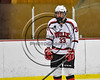 Baldwinsville Bees Christian Treichler (33) being introduced before playing the Watertown IHC Cavaliers in a NYSPHSAA Section III Boys Ice hockey game at the Lysander Ice Arena in Baldwinsville, New York on Tuesday, November 28, 2017.