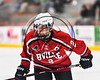 Baldwinsville Bees Tanner McCaffrey (2) before a face-off against the RFA Black Knights in Section III Boys Ice Hockey action at the John F. Kennedy Arena in Rome, New York on Tuesday, January 23, 2018. Baldwinsville won 4-2.