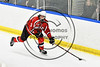 Baldwinsville Bees Ryan Muscatello (3) with the puck against the West Genesee Wildcats in NYSPHSAA Section III Boys Ice hockey playoff action at Shove Park in Camillus, New York on Wednesday, February 21, 2018. Baldwinsville won 2-1 in a Shootout.