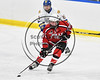 Baldwinsville Bees Anthony Pompo (55) with the puck against the West Genesee Wildcats in NYSPHSAA Section III Boys Ice hockey playoff action at Shove Park in Camillus, New York on Wednesday, February 21, 2018. Baldwinsville won 2-1 in a Shootout.