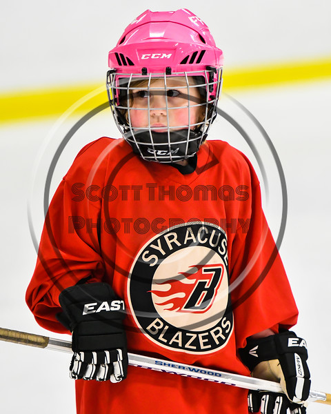Baldwinsville Bees hosted the Lysander Mites during an Intermission of a game at the Lysander Ice Arena in Baldwinsville, New York on Thursday, December 6, 2018.