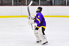 CBA/JD Brothers goalie Joe Salvador (30) being introduced before playing the Baldwinsville Bees in a NYSPHSAA Section III Boys Ice Hockey game at the Lysander Ice Arena in Baldwinsville, New York on Tuesday, December 18, 2018.