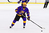 CBA/JD Brothers Turner Pomeroy (2) skating with the puck against the Baldwinsville Bees in NYSPHSAA Section III Boys Ice Hockey action at the Lysander Ice Arena in Baldwinsville, New York on Tuesday, December 18, 2018. Baldwinsville won 3-1.