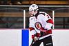 Baldwinsville Bees Ryan Gillespie (7) before playing the CBA/JD Brothers in a NYSPHSAA Section III Boys Ice Hockey game at the Lysander Ice Arena in Baldwinsville, New York on Tuesday, December 18, 2018.