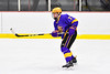 CBA/JD Brothers Justin Thies (7) playing against the Baldwinsville Bees in NYSPHSAA Section III Boys Ice Hockey action at the Lysander Ice Arena in Baldwinsville, New York on Tuesday, December 18, 2018. Baldwinsville won 3-1.