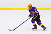 CBA/JD Brothers Dan Louise (15) skating with the puck against Baldwinsville Bees in NYSPHSAA Section III Boys Ice Hockey action at the Lysander Ice Arena in Baldwinsville, New York on Tuesday, December 18, 2018. Baldwinsville won 3-1.