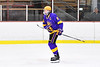 CBA/JD Brothers Cole Mathews (6) being introduced before playing the Baldwinsville Bees in a NYSPHSAA Section III Boys Ice Hockey game at the Lysander Ice Arena in Baldwinsville, New York on Tuesday, December 18, 2018.