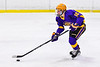CBA/JD Brothers Adam Lousie (16) skating with the puck against the Baldwinsville Bees in NYSPHSAA Section III Boys Ice Hockey action at the Lysander Ice Arena in Baldwinsville, New York on Tuesday, December 18, 2018. Baldwinsville won 3-1.