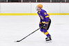 CBA/JD Brothers Adam Louise (16) being introduced before playing the Baldwinsville Bees in a NYSPHSAA Section III Boys Ice Hockey game at the Lysander Ice Arena in Baldwinsville, New York on Tuesday, December 18, 2018.
